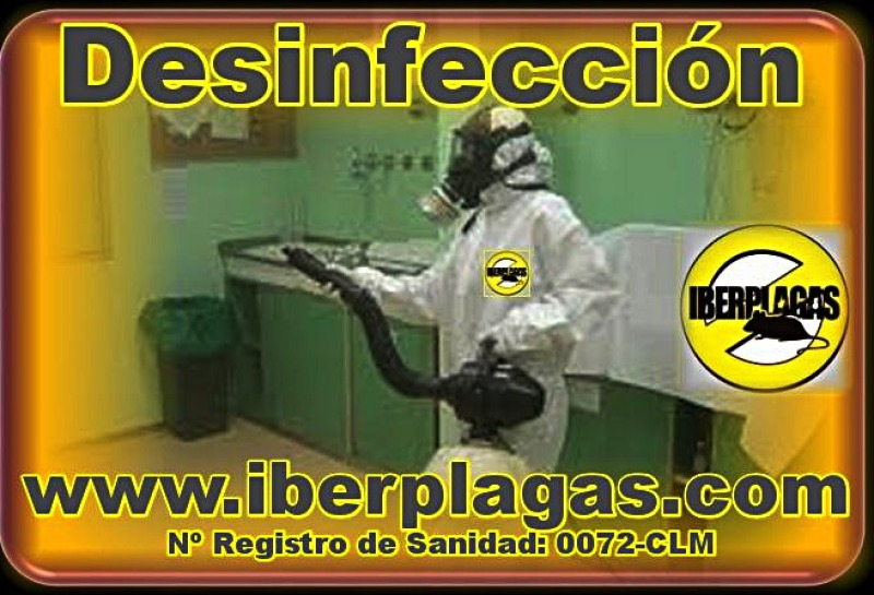 Desinfecciones profesionales