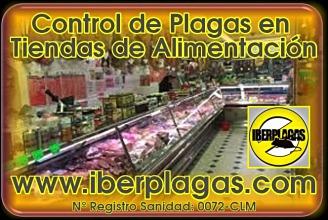 Control de plagas en tiendas de alimentación
