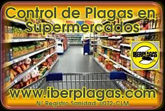 control de plagas en supermercados