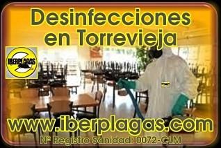 Empresa de desinfección en Torrevieja