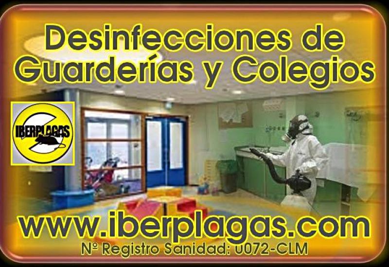 Control de plagas en guarderias y colegios
