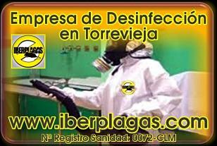 Desinfecciones en Torrevieja
