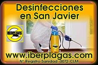 Desinfecciones en San Javier