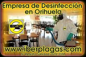 Desinfecciones en Orihuela