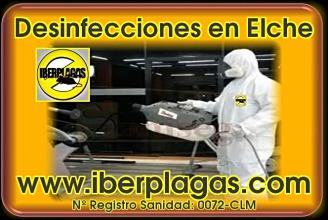 Desinfecciones en Elche