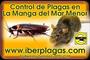 Control de Plagas en La Manga