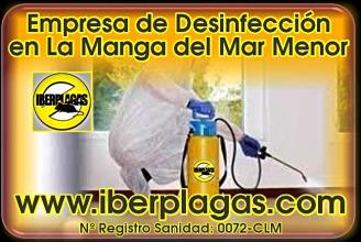 Empresa de desinfección en La Manga