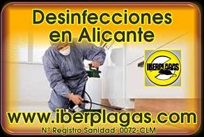 Desinfecciones en Alicante