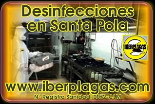Desinfecciones en Santa Pola