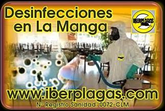 Desinfecciones en La Manga del Mar Menor