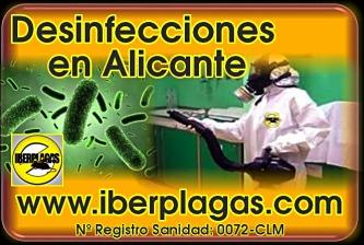 Empresa de Desinfecciones en Alicante