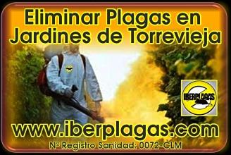 Eliminar plagas de Jardín en Torrevieja