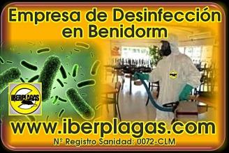 Empresa de desinfección en Benidorm