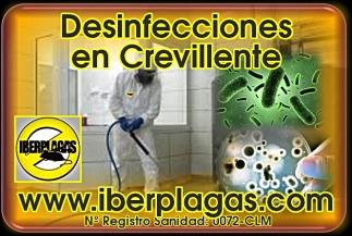 Empresas de Desinfección en Crevillente