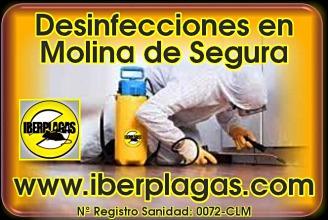 Empresa de Desinfección en Molina de Segura
