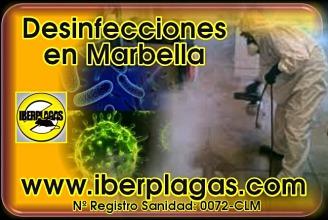 Desinfecciones en Marbella