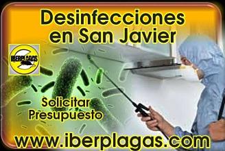 Presupuesto de desinfección en San Javier