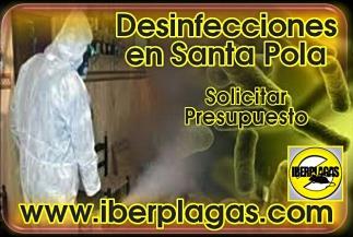 Presupuesto de desinfección en Santa Pola