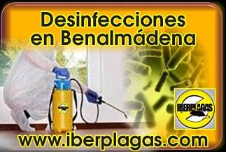 Presupuesto desinfecciones en Benalmádena