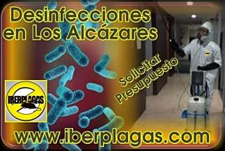 Presupuesto de Desinfección en Los Alcázares