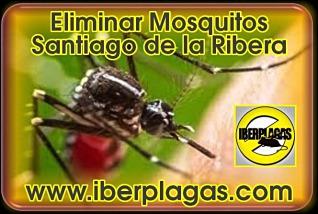 eliminar mosquitos en Santiago de la Ribera