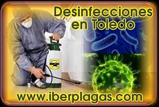 Desinfecciones en Toledo