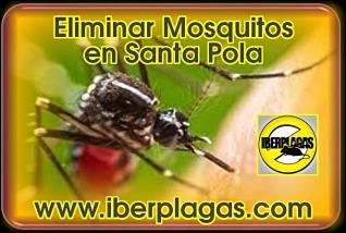 Eliminar mosquitos en Santa Pola
