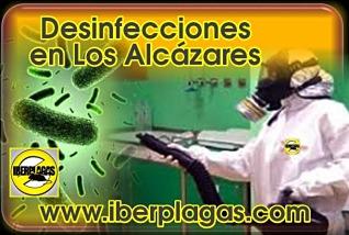 Desinfecciones en Los Alcázares