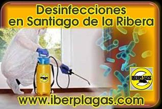 Desinfecciones en Santiago de la Ribera