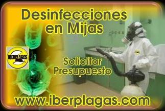 Desinfecciones en Mijas