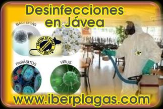 Desinfecciones en Jávea