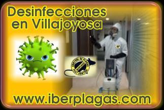 Desinfecciones en Villajoyosa