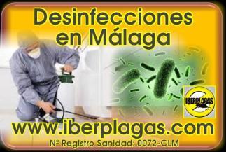 Desinfecciones covid en Málaga