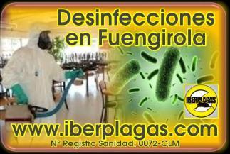 Desinfecciones en Fuengirola