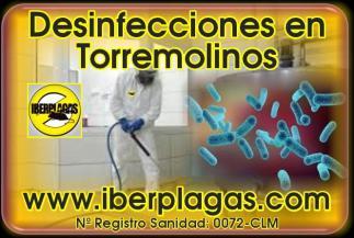 Desinfecciones en Torremolinos