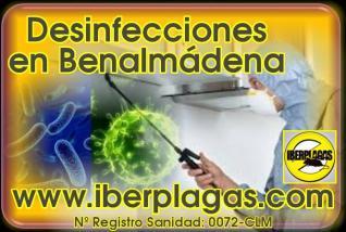 Desinfecciones en Benalmádena