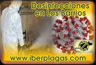 Desinfecciones en Los Barrios