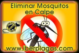 Eliminar Mosquitos en Calpe