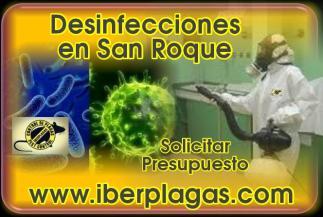 Desinfecciones en San Roque