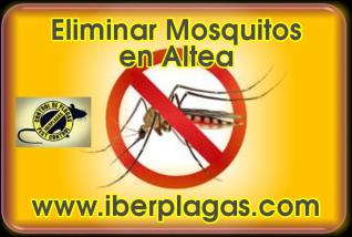 Eliminar Mosquitos en Altea