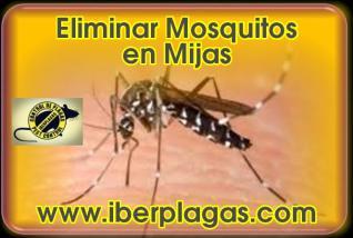 Eliminar Mosquitos en Mijas