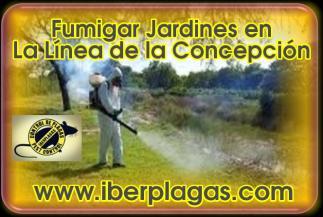 Fumigar jardines en La Línea de la Concepción