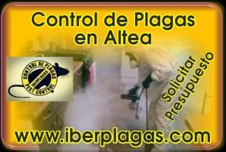 Control de Plagas en Altea
