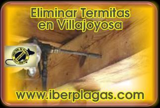 Eliminar Termitas en Villajoyosa